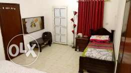 1 Bedroom, kitchen, bathroom at AL HILAL (part of a villa)