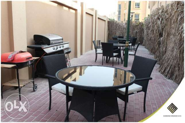 Compound at Al Sadd, Furnished apartments two Bedrooms