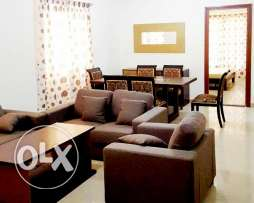 very nice fully furnished 2 bhk compound apartment in wakrah