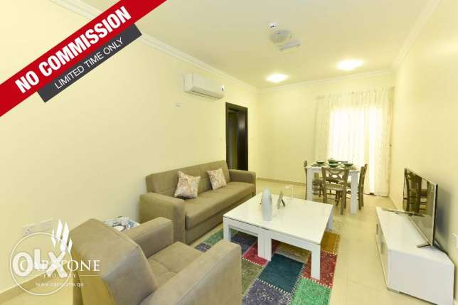 NO COMMISSION, Brand New, FF 2BR Apt in Bin Omran with Pool and Gym