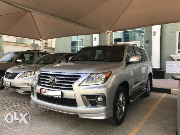 Lexus Lx 570S, 2014 , under warranty