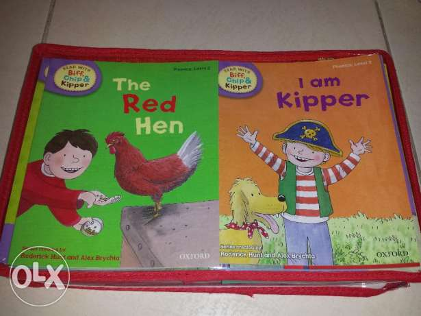 NEW Biff Chip & Kipper Lv 1-3. 33 books