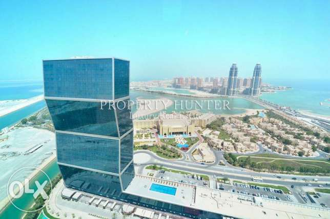 Furnished 2 Bed in Famous Zig Zag Towers الخليج الغربي -  4