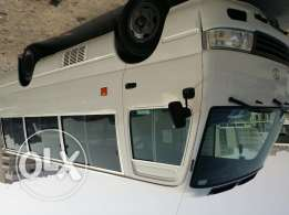 Toyota coaster 2012 (26 seater) For rent