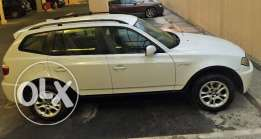 BMW X3 - Excellent Condition - low Km