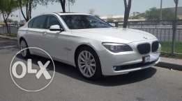 BMW 750 Li model 2012 , full options accident free