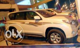 new land cruiser prado with zero kilometer running