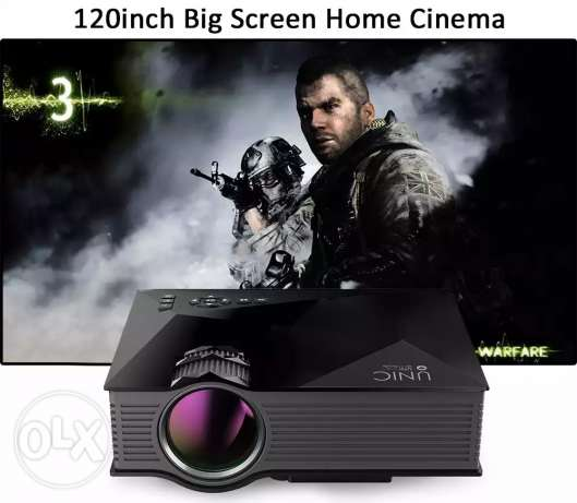 LED Projector Wifi Ready 130 inches