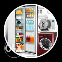 AC,, refrigerator and wash machine repair and sale
