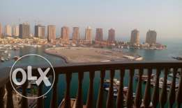 Full marina 3br+maid semi furnished