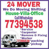Furniture shifting moving