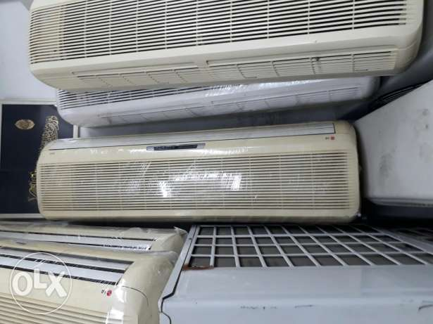 We have very good condition windows and split used a/C for sale