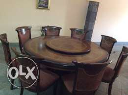 Dining table and chairs, Spanish Design, Excellent condition