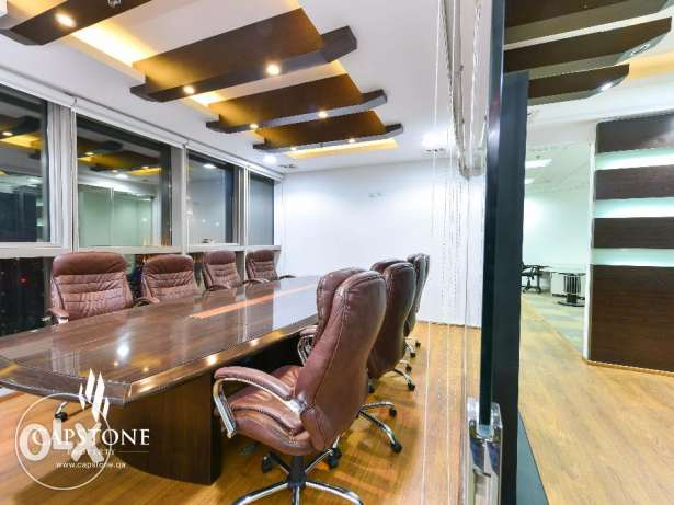 Fully furnished Office for rent in Palm Tower