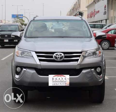 Toyota - fortuner Model 2017