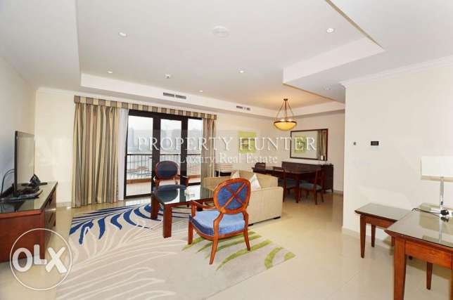 Elegant 3 Bed + maid furnished apartment