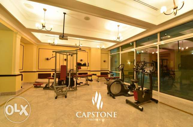 FREE 1 MONTH: 2 Beds + 1 Kid's Playroom, The Pearl Apartment الؤلؤة -قطر -  1