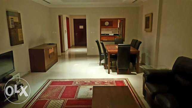 2bedroom fully furnished with big balcony in pearl porto Arabia for re الؤلؤة -قطر -  4