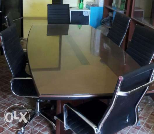 Sale - Work Station (Furniture) & Office Conference Table with Chairs