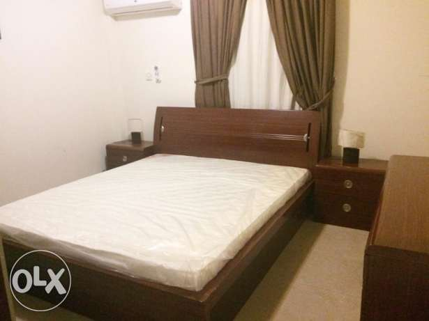 Fully-Furnished 1/BHK Flat At Al Sadd, -{Near Ahli Bank}-