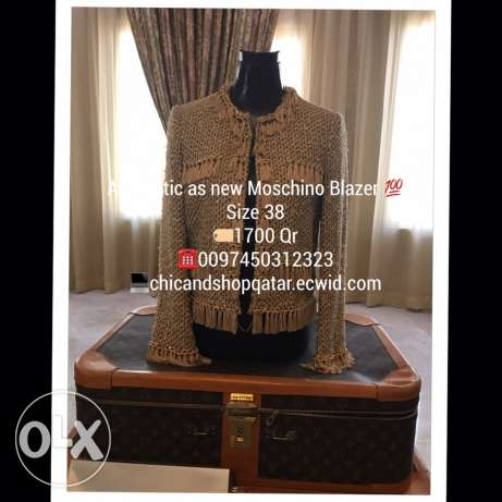 Authentic Moschino Blazer