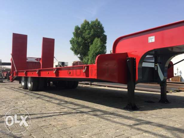 new low bed trailers for sale with 5 years warranty of chassis