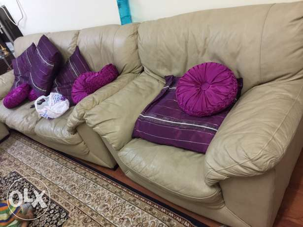 Leather Sofa for sale-3+2+1