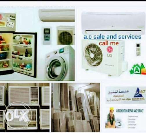 i have split & Window a/c for sale