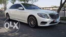 Mercedes S400 full options model 2015, no accidents