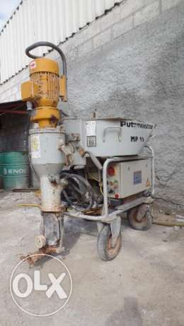 Used Putzmeister MP 25 Plastering Machine for sale