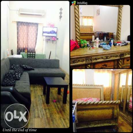 1BHK fully furnished for 2months