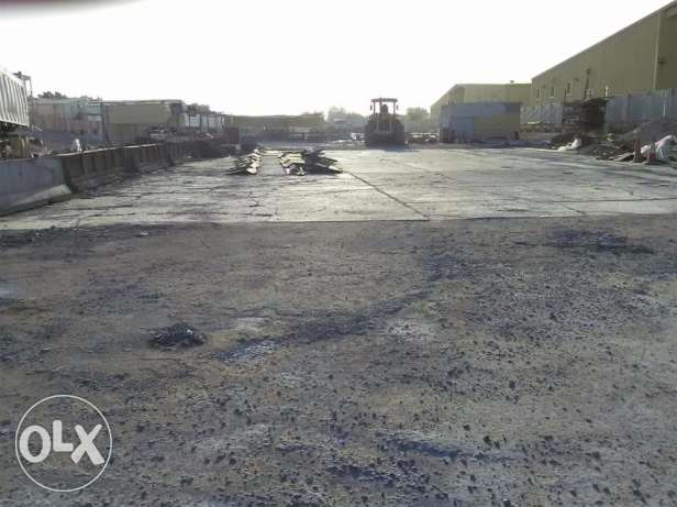 30,000 sq mtr Open land, Ideal for storing vehicles / containers avail