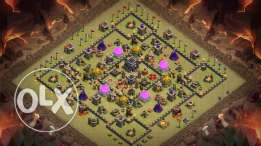Clash of Clans (Fully MAx TH9)