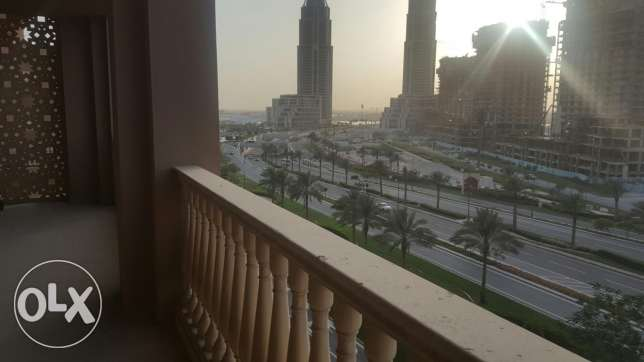 Beautiful One bedroom in the Pearl 9000 Qr  Apartment  for Rent