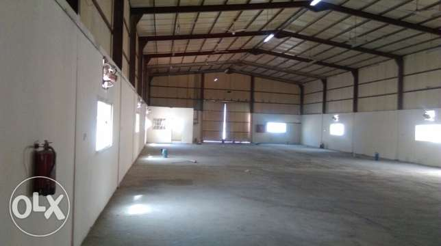 1000 mr Store with Rooms & Open yard for rent