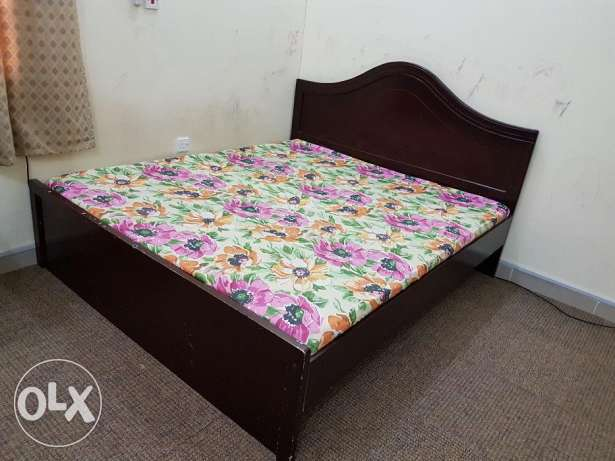 Cot With Matress For Sale