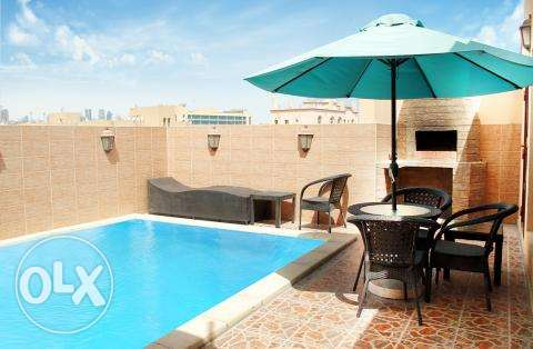 3BHK Fully Furnished Apartment in Fereej Bin Mahmoud