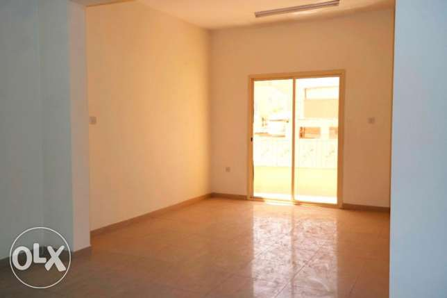 for bachelors.2 bedroom + spacious hall unfurnished apartment at najma