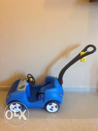 For sale car step 2 for boy- very new