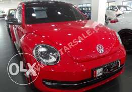 for sale, red Beetle