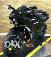 2015 Kawasaki Ninja H2 in mint condition