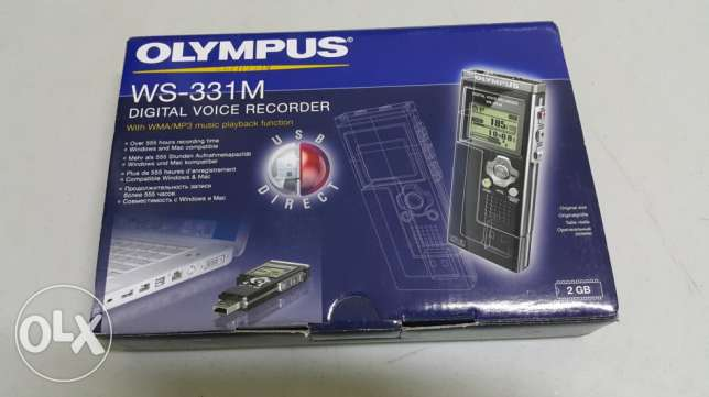 OLYMPUS Digital voice recorder/MP3 player with USB PC link