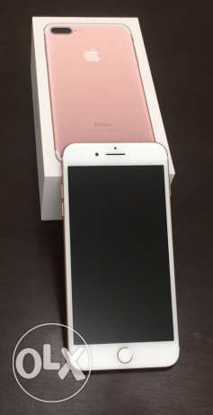 Brand NEW iPhone 7 Plus - Rose - 128GB + (2) 15GB ooredoo Data cards