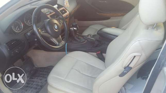 BMW 6 Series 2007 in very good condition for sale أبو هامور -  4