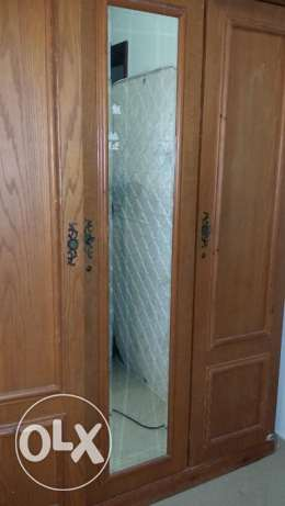 3 Door Wooden Cupboard for Sale