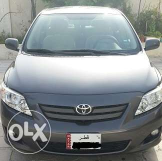 Toyota Corolla 2008 model in excellent condition