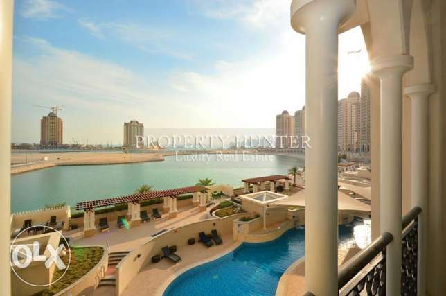 Incomparable Furnished Home with Marina view