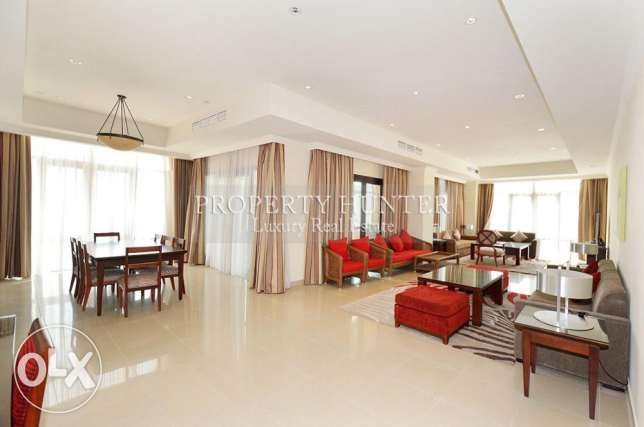 Furnished Penthouse with sea views