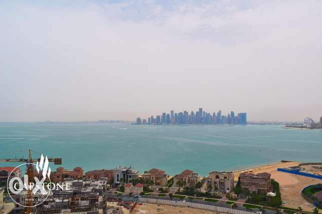 S/F Studio Apt at Porto Arabia + Breathtaking Sea View