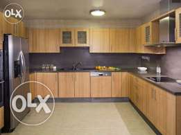 Luxury FF 5-Stars 3-MASTERROOMS Flat in Bin Mahmoud/Balcony/Gym/Pool